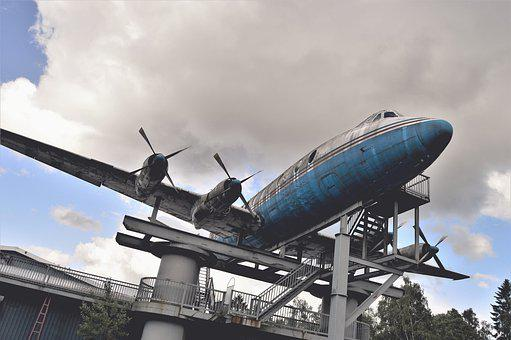 Aircraft, Sweden, Theme Park, Amusement Park, Building