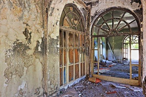 Croatia, Kupari, Abandoned, Hotel, War, Damage