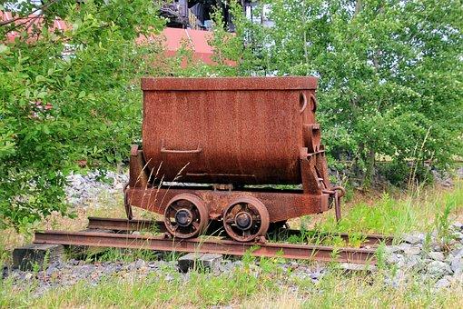 Iron Wagon, Wagon, Coal Wagon, Carbon, Transport, Steel