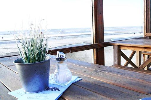 North Sea, Coast, Beach, Sea, Dune, East Frisia, Sky