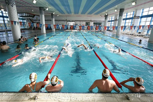 Swimming, Pool, Indoor Pool, Exercise