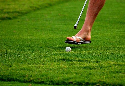 Golf, Grass, Foot, Sport, Green, Ball, Course, Lawn