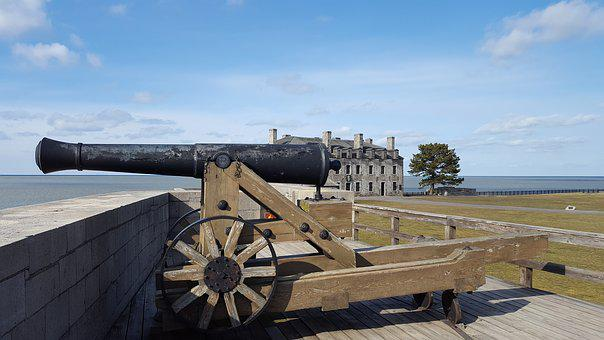 Fort, Cannon, Landscape, Fortress, Historical, Gun, Sky