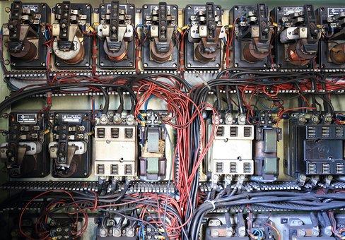 Croatia, Bakar, Industry, Harbor, Crane, Electric