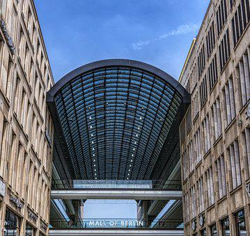 Mall Of Berlin, Berlin, Shopping, Architecture, Modern