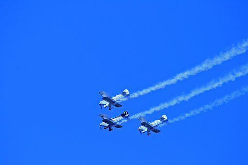 Pitts Special, Aircraft, Aerobatic, Team, Display
