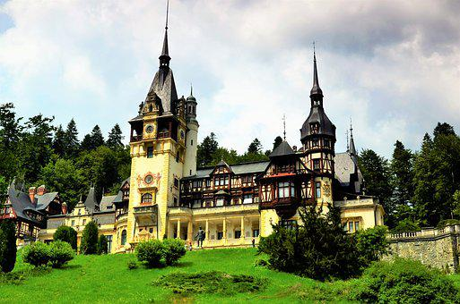Castle, Romania, Sinaia, Monument, Causescu