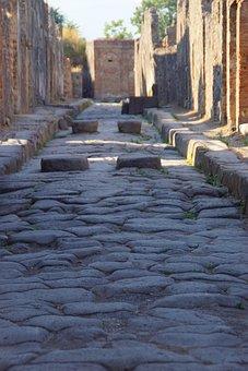 Pompeii, Ruin, Antique, Italy, Ancient Ruins, Roman
