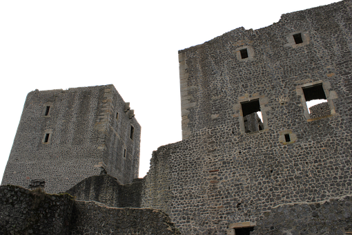Rye Castle, Castle, Ruin, Fortress, Middle Ages
