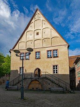 Town Hall, Sangerhausen, Saxony-anhalt, Germany
