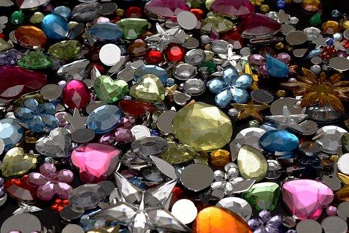 Semi Precious Stones, Tinker, Glitter, Decorate, Ornate