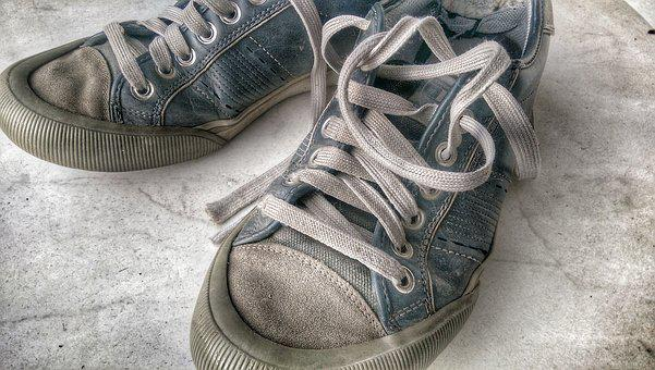 Sneakers, Old Shoes, Sports Shoes, Sneaker, Festival