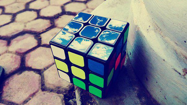 Rubik, Cube, Puzzle, Toy, Game, Intelligence, Play