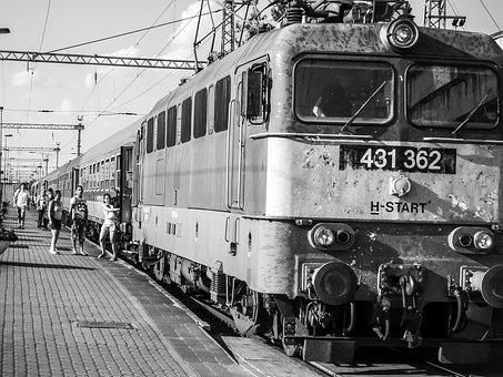 Travel, Rail, Train, Transport, Station, Locomotive