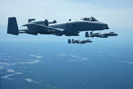 Formation Flight, Fini-flight, A-10, Thunderbolt