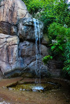 Mini Waterfall, Nature, Beauty, Water, Environment