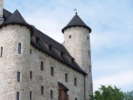 Castle, Restored, Bobolice, Poland