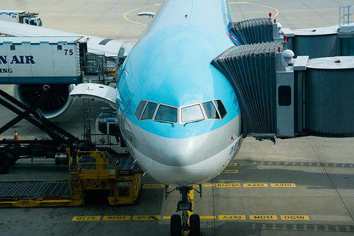 Plane, Airport, Airliner, Aircraft, Cargo, Pathway