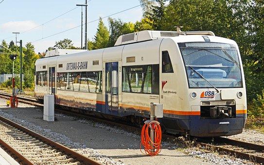 Diesel Railcar, Private Railway, Ortenau-s-bahn