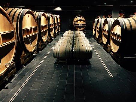 Casks, Wine, Champagne, Drink, Winery, Barrel