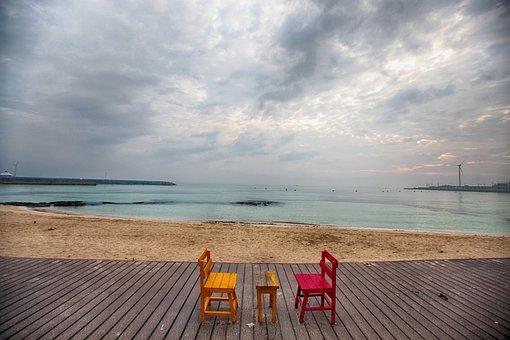 Jeju Island, Jeju, May Clean, Travel, Sea, Sky, Tourism