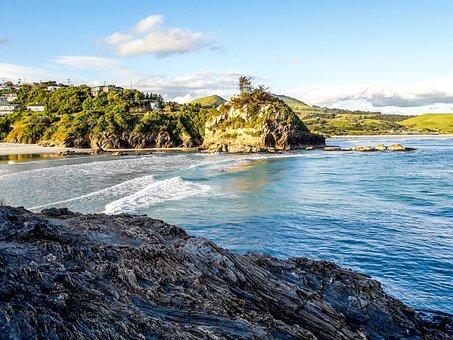 New Zealand, Landscape, Alps, Mountain, Lake, Nature