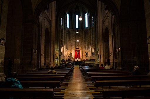 Church, Europe, Lights, Tourism, Architecture, Religion