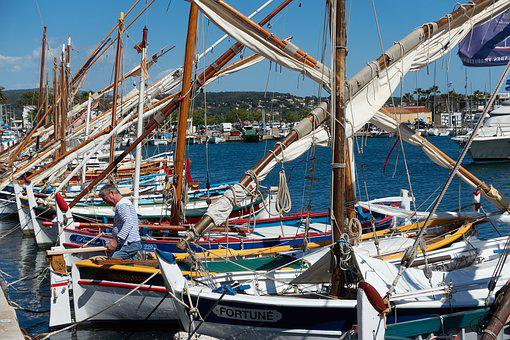 Bandol, Boat, Fisherman, Sea, Marin, Browse, Rope