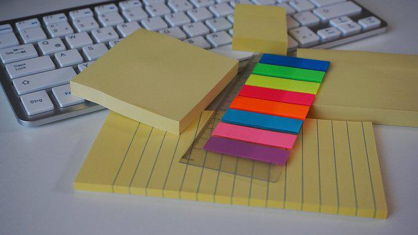 Postit, Sticky Notes, Adhesive Note, Office Accessories