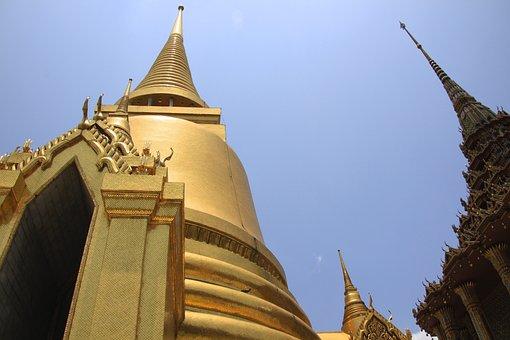 Temple, Thailand, Grandpalace, Religion, Architecture