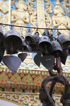Chiang May, Thailand, Culture, Bell, Blossom, Thai