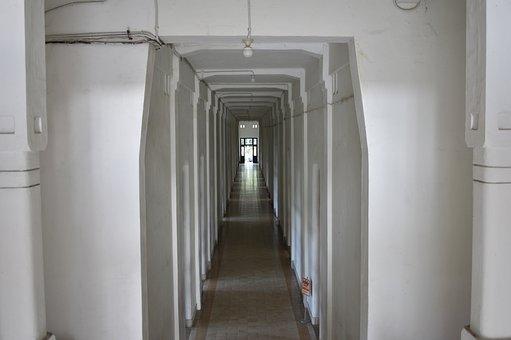 Tunnel, Gate, Entrance, Corridor, Way, Architecture
