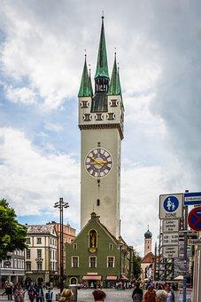 Straubing, Bavaria, City Tower, Tower