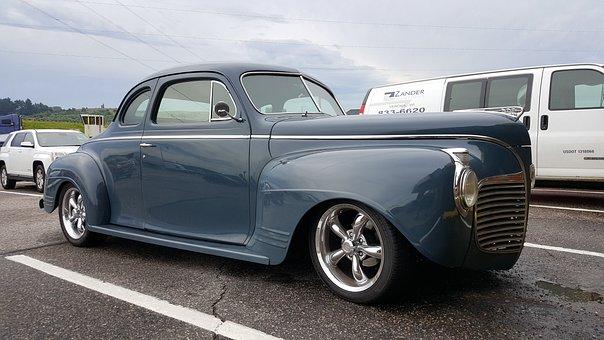 Car, Classic, Roadster, Rod, Muscle Car