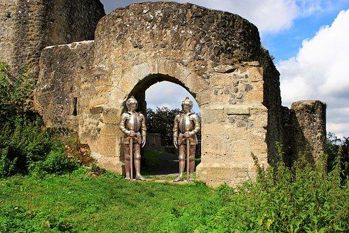 Castle, Burgruine, Ruin, Middle Ages, Castles, Building