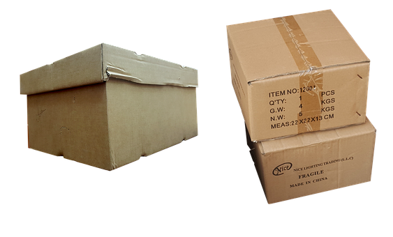 Box, Transparent, Container, Carton, Delivery, Package