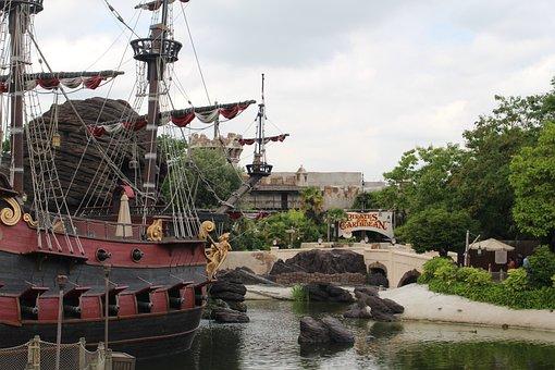 Disneyland Paris, Disney, Pirate, Pirates