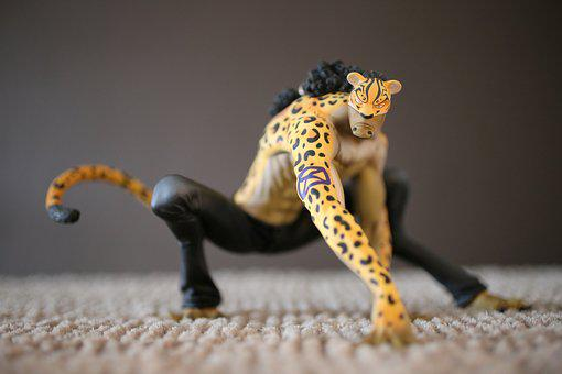 One Piece, Manga, Anime, Figure, Leopard, Rob Lucci