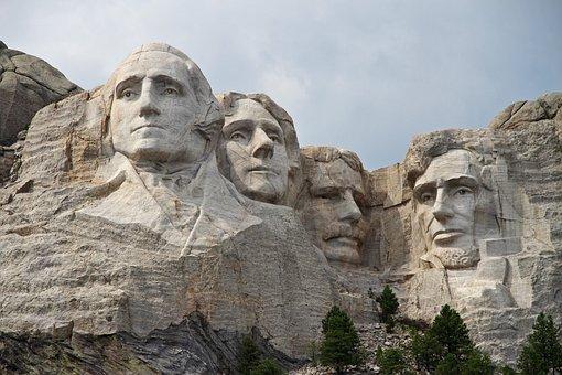 Mountain, Usa, Rushmore, Rushmore Mountain, Presidents