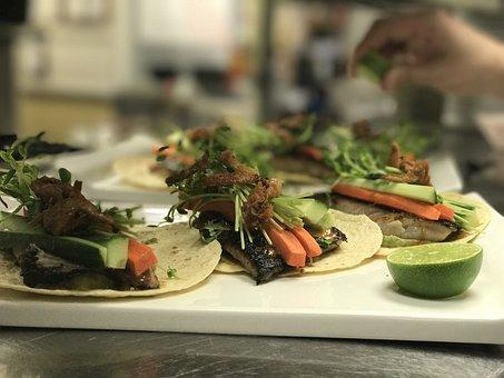 Gourmet, Food, Tacos, Fish Tacos, Restaurant