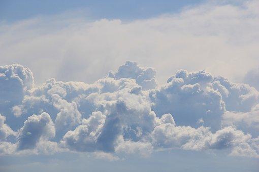 Clouds, Sky, Blue Sky Clouds, Blue, Nature, Weather