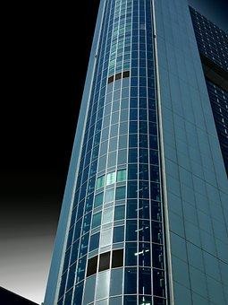 Skyscraper, Office Building, Frankfurt, Architecture