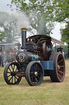 Steam, Engine, Traction Engine