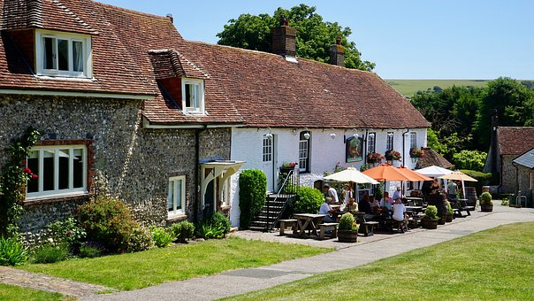 Country, Pub, Vintage, Food, Bar, English
