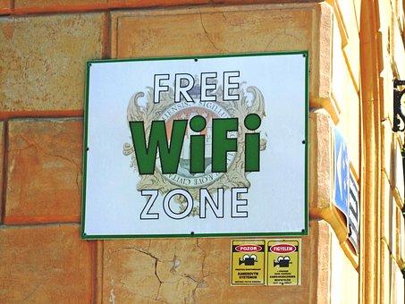 Wifi, Building, Street, Wall, Street View