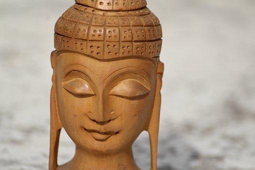 Figurine, Buddha, Enlightenment, Peace