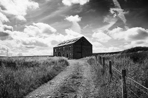 Abandoned, House, Building, Architecture, Dark, Scary