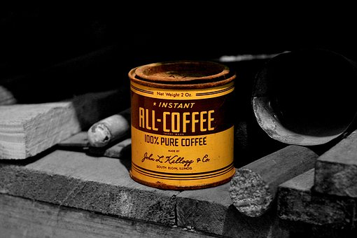 Box, Coffee, Tin Can, Coffee Tin, Brand, Cafe, Effect