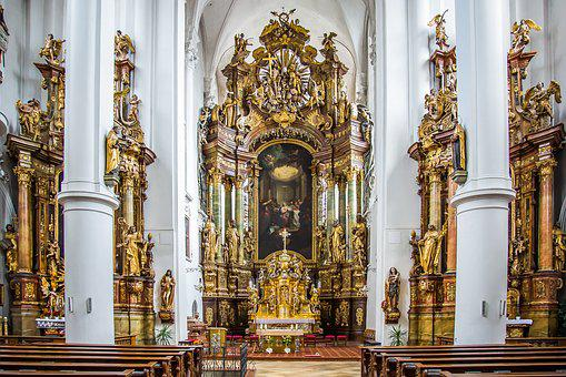 Straubing, Carmelite Monastery, Monastery, Church