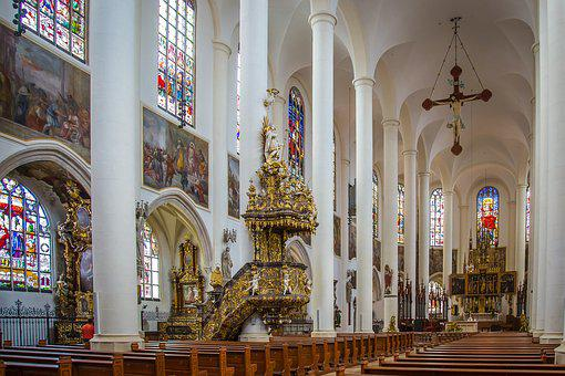 Straubing, St Jacob, Basilica, Church, Catholic
